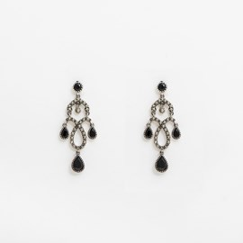 Earrings Salsa Onyx