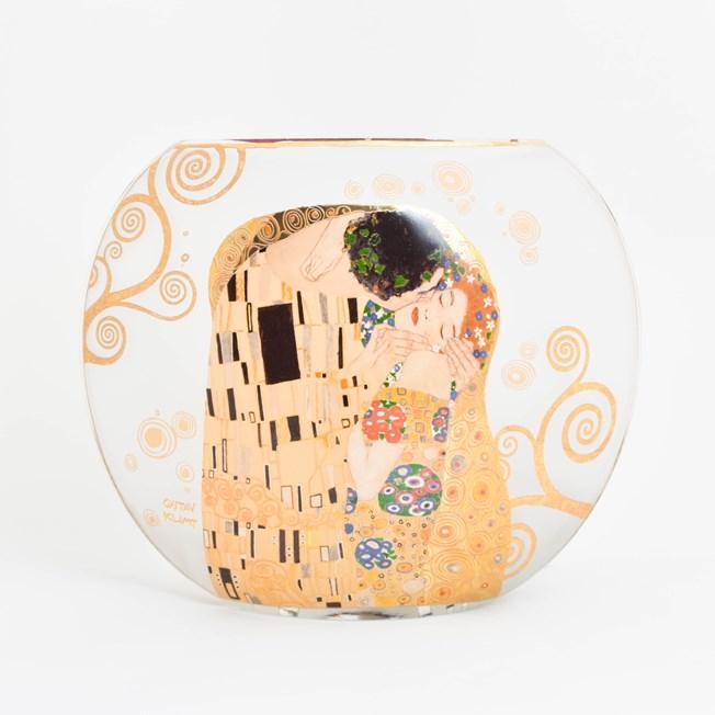 Glass Table Lamp Klimt 'The Kiss'