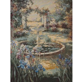 Tapestry/Gobelin Fontaine