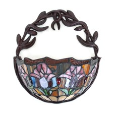 Tiffany Wall Lamp Basket