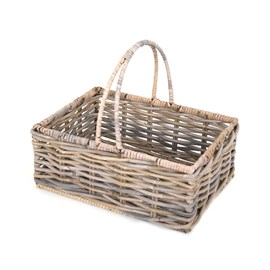 Willow Basket Grey