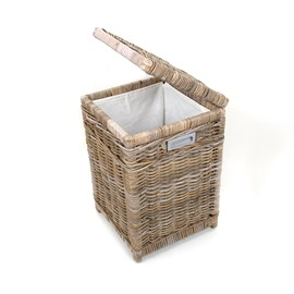 Square Laundry Basket Grey