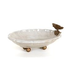 Dish with Butterfly
