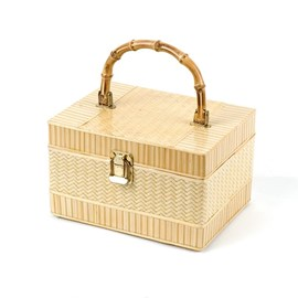 Bamboo Jewellery Box Rectangle