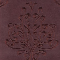 Sky Leather Damask