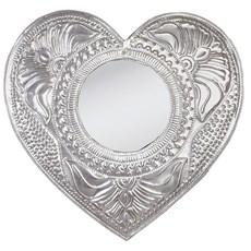Silver Mirror Romantic Relief