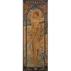 Mucha tapestries Time of the day