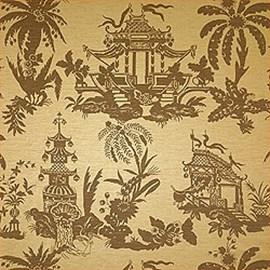 Wallpaper Tea House Damask