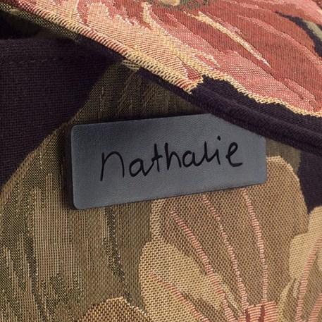 Detail Label Bag Design Nathalie
