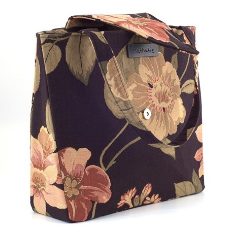 Bag Design Nathalie with open flap