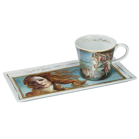 Coffee Set The Birth of Venus. Apply discount code Ladies10 for 10% discount on all Ladies items