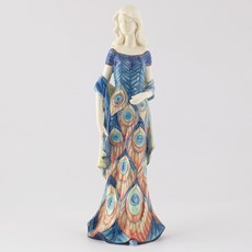 Sculpture Lady Peacock