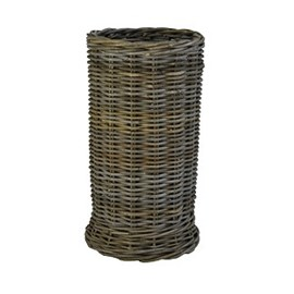 Rattan Umbrella Basket Grey Rain