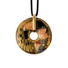 Necklace Klimt - The Kiss