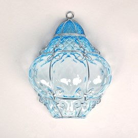 Venetian Wall Lamp Bellezza Aquamarine