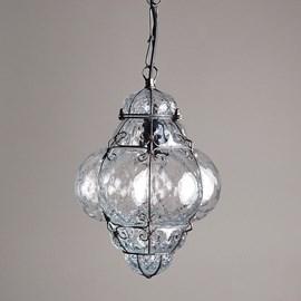Venetian Hanging Lamp Small Bellezza Clear