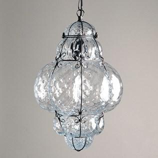 voorbeeld van een van onze Venetian wire glass