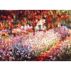 Wall Tapestry Irises in Monet's Garden