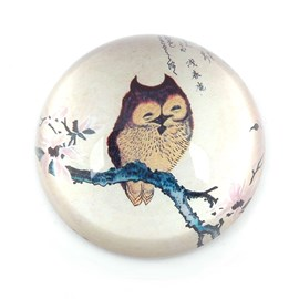 Paperweight Japanese Owl