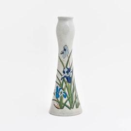 Vase / Candlestick Blue Iris