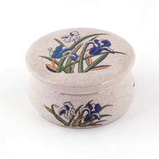 Porcelain Box Blue Iris