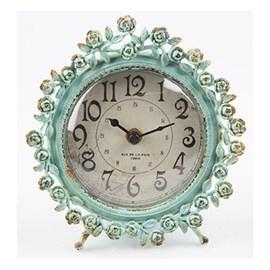Clock Bourdoir Roses