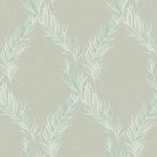Wallpaper Feather Leaves
