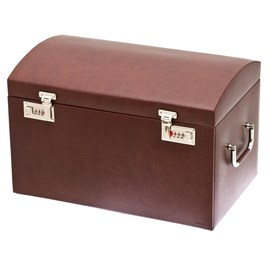 XXL Jewelry Box Grandeur Maroon