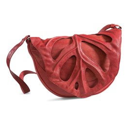 Handbag Jungle Leaf Red