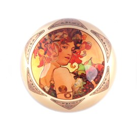 Paperweight Mucha Fruit