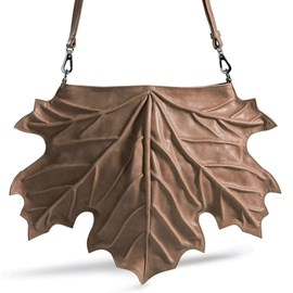 Handbag Maple Leaf Taupe