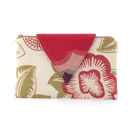 Clutch / Evening Bag Nathalie | Flowery