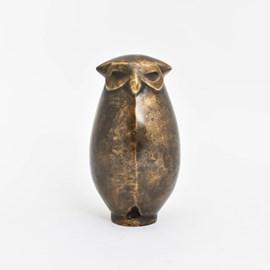 Sculpture Chubby Owl