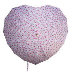 Umbrella Heart shape