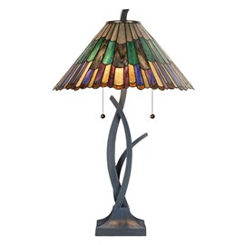 Tiffany Table Lamp Styled Flower