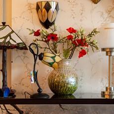 Monet Vase Golden Rain