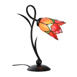 Tiffany Table Lamp Lovely Flower