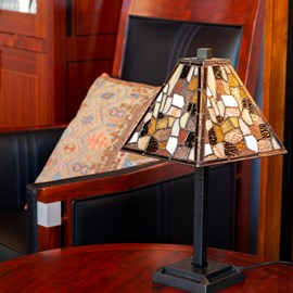 Tiffany small Table Lamp Fallingwater
