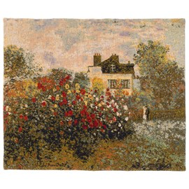 Wall Tapestry House and Garden of Monet