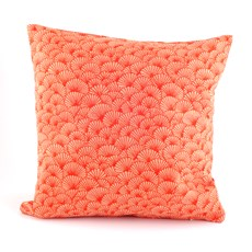 Cushion Elegant Ginkgo   Orange
