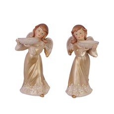 Set of 2 Thea Light Holders Angel