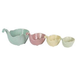 Set of 4 Elephant Measuring Cups