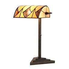 Tiffany Banker Table Lamp Parabola