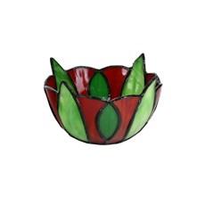 Tiffany Tea Light Holder Sweet Bell Flower