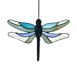 Window Pendant Dragonfly Brilliance