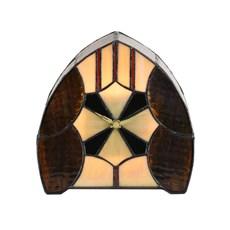 Tiffany Clock / Table Lamp Parabola