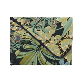 Origami folder / Clutch Peacock Jungle