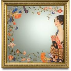 Mirror Lady with Fan | Klimt