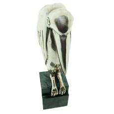 Sculpture Marabou Silver