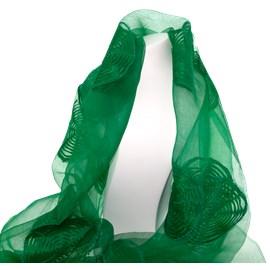 Scarf Green Silk